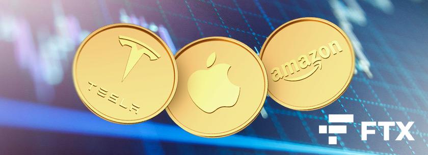 Крупная криптовалютная биржа FTX добавила возможность торговать токенизированными акциями