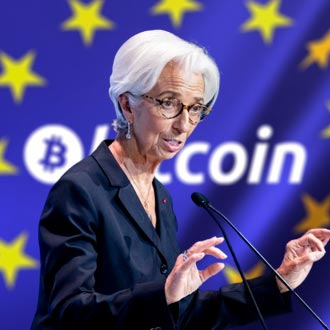 "The head of the European Central Bank considers Bitcoin a ""speculative asset"""